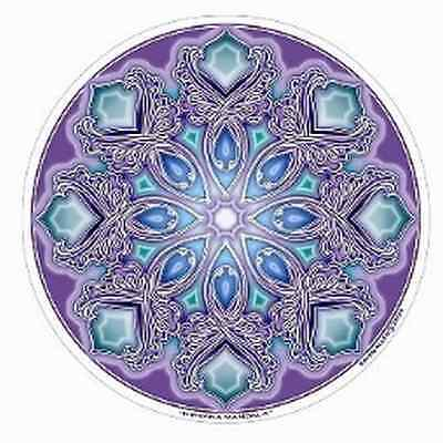 FENG SHUI Fensterbild Nirvana Mandala Energie