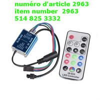 12A 3 Channels IR Waterproof RGB Controller Dimmer for 5050 SMD
