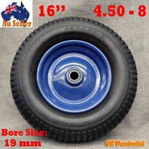 "16"" inch Solid Tyre Wheel Wheelbarrow Flat Free Wheels Puncture Epping Whittlesea Area Preview"