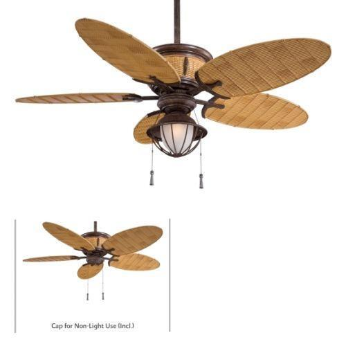 Tropical Ceiling Fans : Tropical outdoor ceiling fan ebay