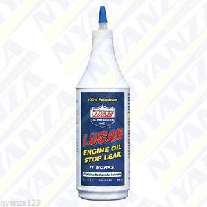 lucas engine oil stop leak oil seal sealer stop smoke additive ml ebay