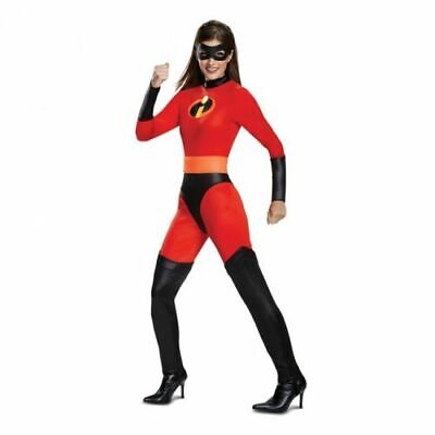 Disguise The Incredibles Mrs Unglaubliche Klassisch Damen Halloween Kostüm 66835 ()