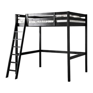 IKEA STORA double loft bed - lightly used.