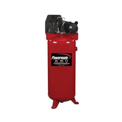 Powermate 3.7 Hp 60 Gallon Oil-lube Vertical Air Compressor Pla3706056 New