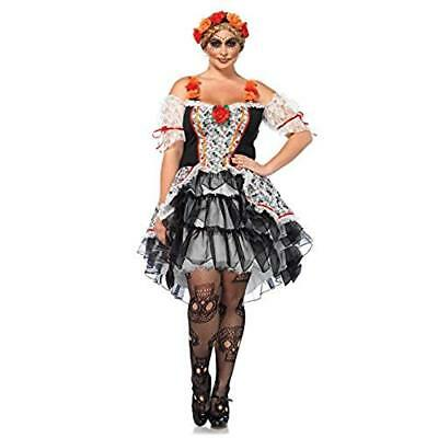 Sugar Skull Senorita - Day of the Dead Adult Costume