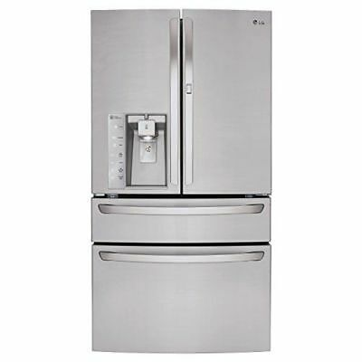LG LMXS30776S 29.7CF 4-Door French Door Refrigerator Stainless steel