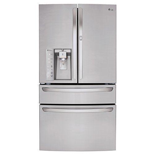 LG Door-in-Door 29.9 Cu. Ft. 4-Door French Door Refrigerator with Thru-the-Door Ice and Water Stainless Steel LMXS30776S