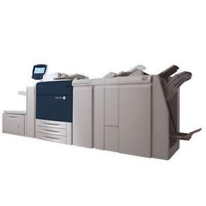 Xerox 770 700i Digital Color Press Production Print Shop Printer Copier - AUTOMATIC DUPLEX UP TO 300 GSM