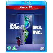 Monsters Inc Blu Ray