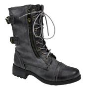 Womens Combat Boots Size 5