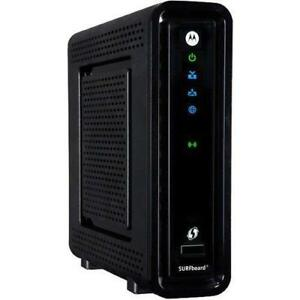 Motorola Surfboard DOCSIS 3.0 Cable Modem/Wi-Fi Dual Band Router