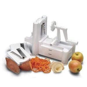 Tri-Blade-Plastic-Spiral-Vegetable-Slicer-Cutter