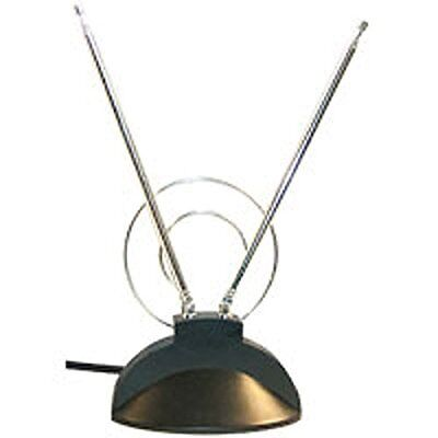 Luxtronic top-of-set UHF/VHF HD Antenna with Coaxial Connector rabbit Ear DT410 for sale  Shipping to India