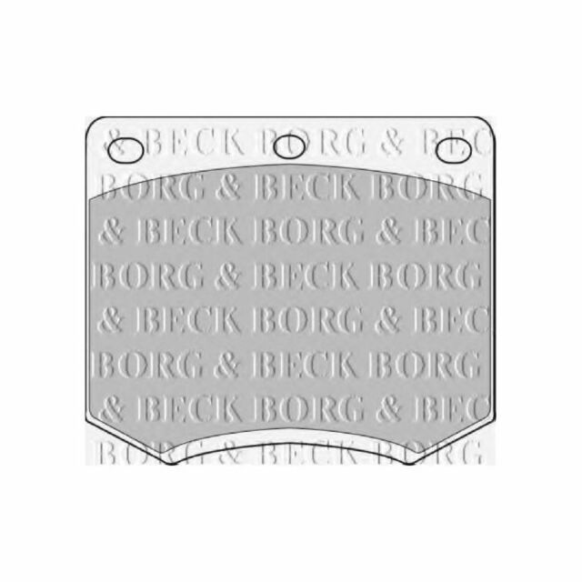 Variant1 Borg & Beck Front Brake Pads Set Genuine OE Quality Service Replacement