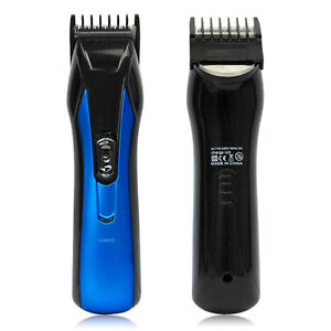 electric rechargeable cordless hair beard trimmer clipper. Black Bedroom Furniture Sets. Home Design Ideas