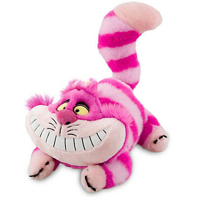 NWT Disney Alice in Wonderland's Pink Cheshire Cat Plush Stuffed Animal 20