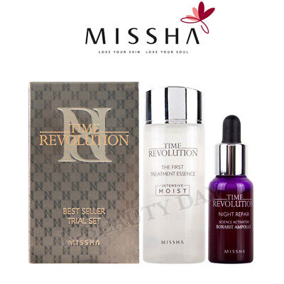 [MISSHA] Time Revolution Best Seller Trial Essence, Ampoule / Korean