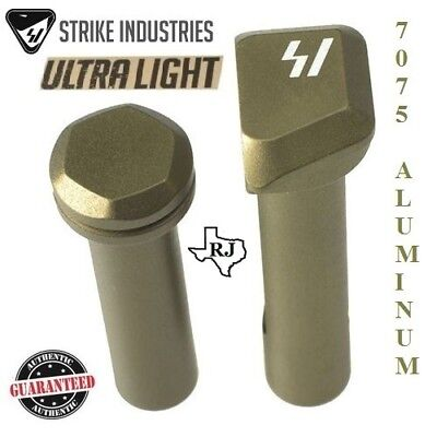 Strike Industries Ultra Light Enhanced Extended Take Down Front   Rear Pins Fde