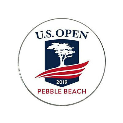 2019 US Open Pebble Beach Golf Ball Marker + HAT CLIP