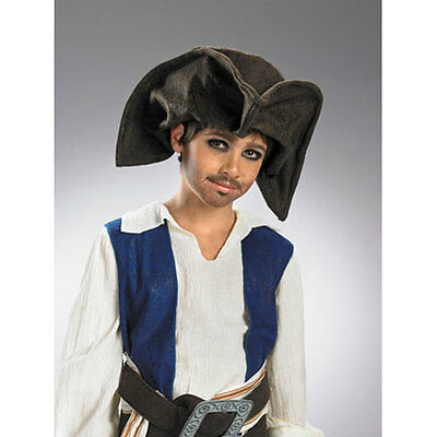 NWT Disney Pirates of the Caribbean Worlds End Jack Sparrow Child's Tricorn Hat for sale  Safety Harbor
