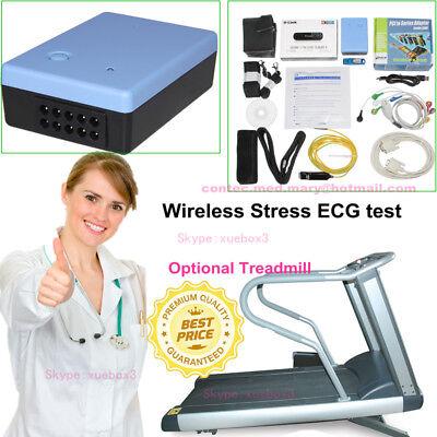 Wireless Stress Ecgekg Analysis Systemexercise Stress Ecg Test Software Newest