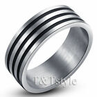 Silver 8 Ring Rings for Men