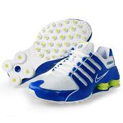 Nike Shox NZ White Blue