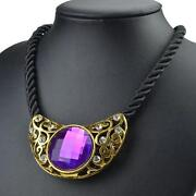 Vintage Purple Necklace