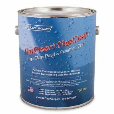 1 Gallon Plasti Dip Dyc Topcoat Finishing High Gloss Dippearl Dip Pearl Spray