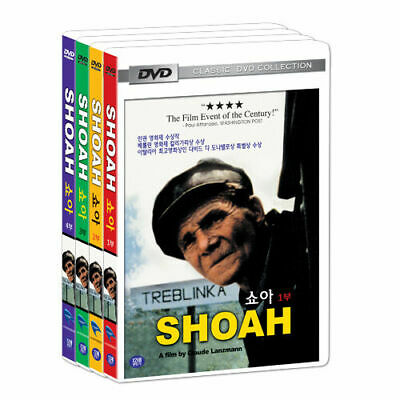 [DVD] SHOAH Vol. 1 - 4 FULL SET (1985) Claude Lanzmann *NEW