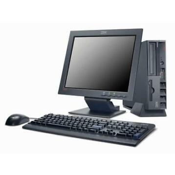 Lenovo ThinkCentre C2D + 17inch LCD