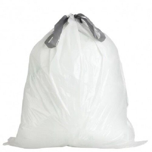 Plasticplace 4 Gallon Drawstring Bags - case of 200 bags