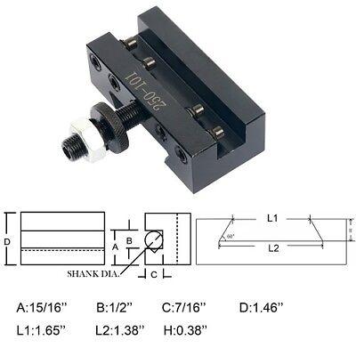 Axa 2post Holder 250-101 Quick Change Turning Facing Boring Cnc Tools
