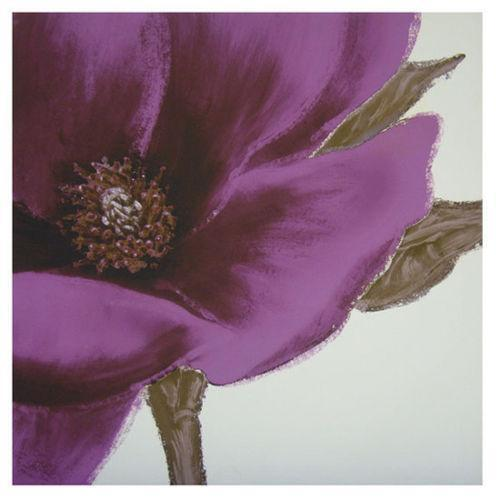 Purple Flower Canvas Pictures Ebay
