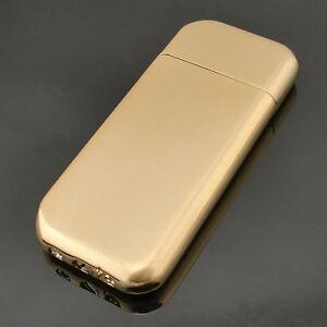 Golden Cigarette Flame Refillable Lighter Fantastic Cigar Butane Gas Lighter