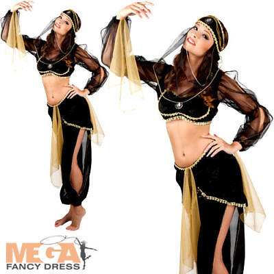 Arabian Princess Ladies Fancy Dress Arab Nights National Dress Adult Costume New