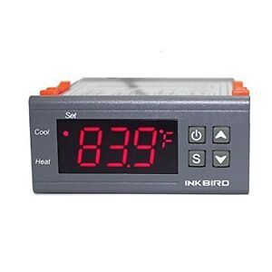 Inkbird ITC-1000 110V 10A temperature controller thermostat for heater cooler US