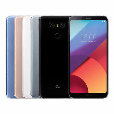 LG G6 32GB (Ohne Simlock) Android Smartphone Handy 2 Farbe 5,7