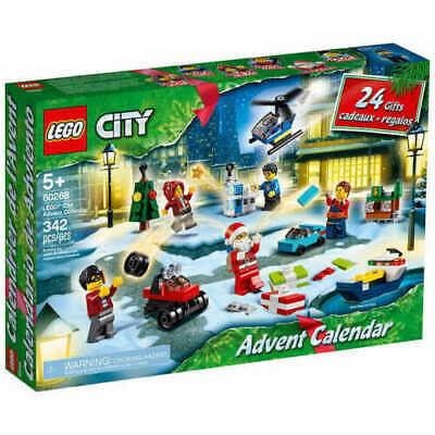 NEW LEGO City Advent Calendar 2020 Building Set 60268 FREE SHIPPING