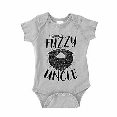 I Have A Fuzzy Uncle Baby Bodysuit One Piece for The Best Uncles with