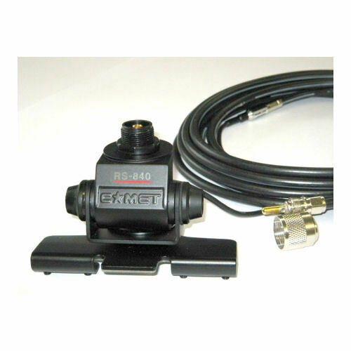 Comet HD-5M Heavy Duty Universal Adjustable Antenna Lip Mount w/Cable & PL-259
