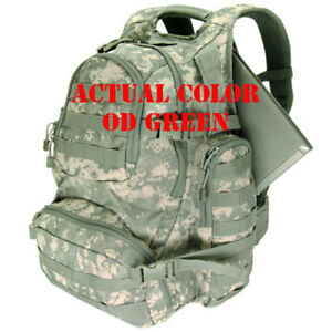 e2e8dcc4332d Condor 147 OD Green Urban Go Pack MOLLE Patrol Laptop Bail-out Tactical  Backpack