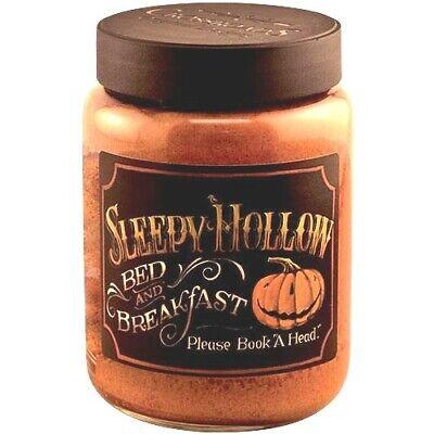 NEW!! Primitive Vintage Farmhouse Fall HALLOWEEN SLEEPY HOLLOW Jar - Halloween Sleepy Hollow