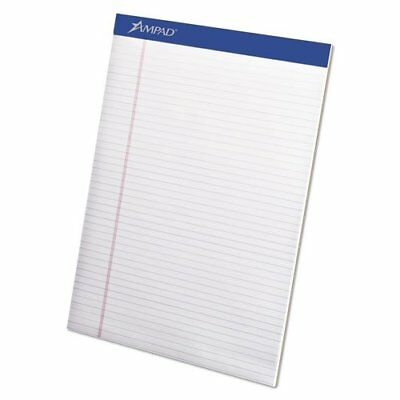 Ampad 20315 Mead Legal Ruled Pad, 8 1/2 X 11, White, 100-sheet Pads, 4 Per