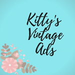 kitty's vintage ads