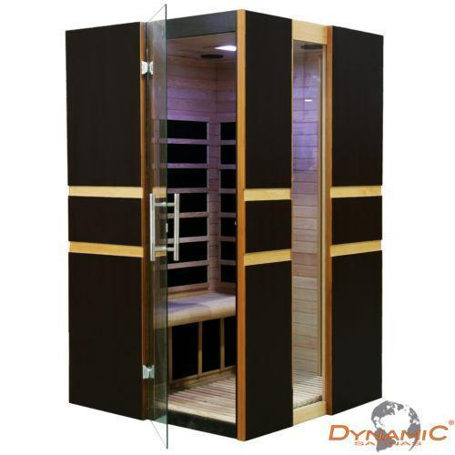 2 person far infrared sauna ebay. Black Bedroom Furniture Sets. Home Design Ideas