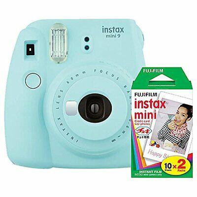 Fujifilm Instax Mini 9  Instant Camera with Mini Film Twin P