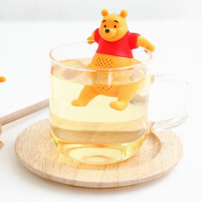 Tea infuser Silicone Disney Winnie the Pooh Loose Leaf Strainer Herbral Filter