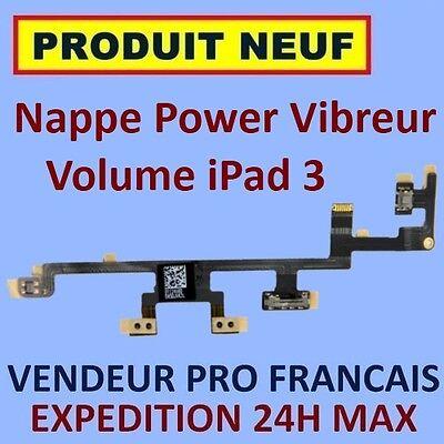 ✖ Flex Blatt Tasten Leistung Volumen Und Vibrator IPAD 3 Wifi und Wifi 3G ✖