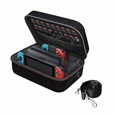 Nintendo Switch Game Traveler Deluxe Storage Case,iVoler Por